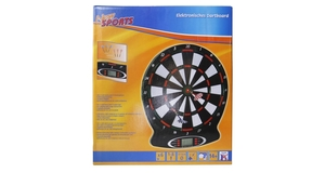 Electronic dartboard with sound